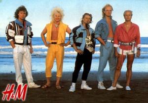 H&M mainos 80-luvulta.